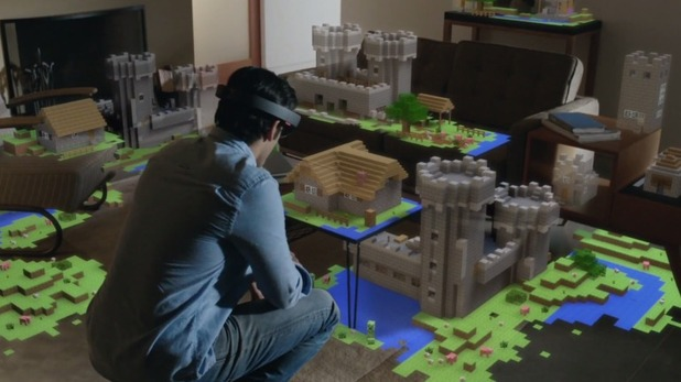 . Real Life Holographic Minecraft Teased by Microsoft   Dallas Gamer